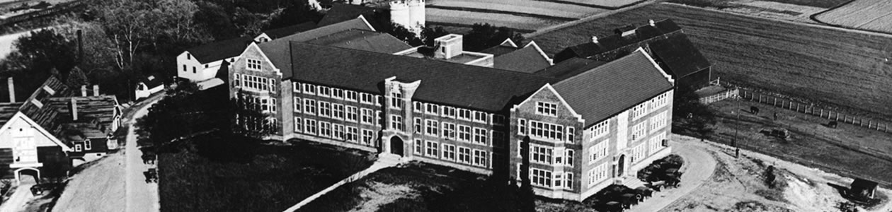 Morgan Hall in the 1920s
