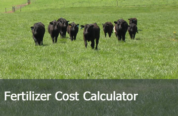 Click here to learn more about the Fertilizer Cost Calculator.
