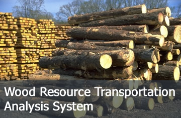 Click here to learn more about the Wood Resource Transportation Analysis System.